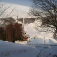 朝日の岩岳スキー場