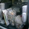 いつもの管理人ゴミ車