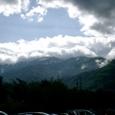 梅雨の白馬連山