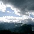 青空に雨雲