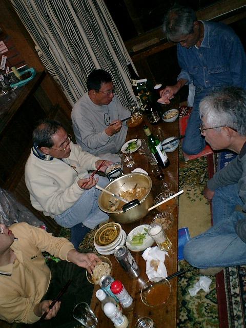 アンコウ・キムチ鍋