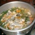キムチ鍋 牡蠣入り