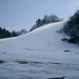 オリンピックスキー場休業