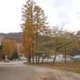 山小屋の秋模様