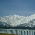 白馬村から後立山連峰