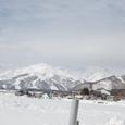 白馬村と後立山連峰