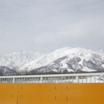 松川と後立山連峰