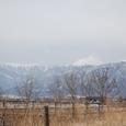 南アルプスの峰々