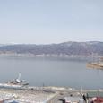 諏訪湖 今年は氷らない