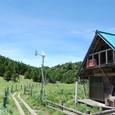 縞枯山荘は風力発電