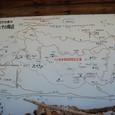大河原峠とその周辺地図
