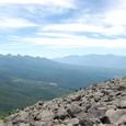 蓼科山山頂から南八ガ岳と南アルプス
