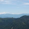 中央アルプスの峰々