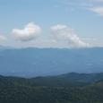 乗鞍岳から穂高・槍連山に連なる
