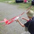 Ys空撮機 ビデオカメラは胴体内に格納