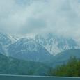 湖と北アルプス