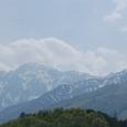 栂池スキー場からの風景