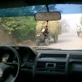 農村の路地 風景