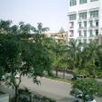 アパートから眺める風景