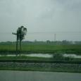 鉄路と田園