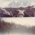 白馬三山雪景色