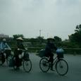 ベトナム風景 自転車