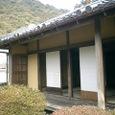 旧目加田家住宅 庭