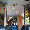 ベルゲン鉄道 車内風景
