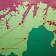 アルタ周辺の北極圏