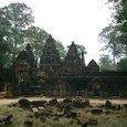 寺院裏 沐浴の池(乾季で水無し)