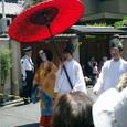 命婦(みょうぶ)と花傘