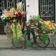 花売り自転車