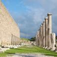 アスクレピオン 壁と柱列