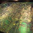 航空写真 日本人町跡、アユタヤ王城跡