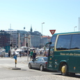 混雑するベルゲンの港