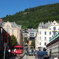 山に囲まれたベルゲン