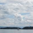 フィヨルドと雲と
