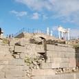 山の頂上にはトラヤヌス神殿