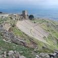 アテナ神殿と円形劇場
