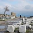 トラヤヌス神殿を去る