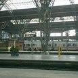 ライプチッヒの駅からベルリンを目指す