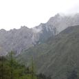 雪宝鼎連山遠景