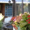 花いっぱいの農家