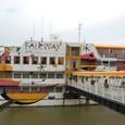 スロバキア ドナウ川のBotel(Boat Hotel)