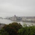 ドナウ川とブダペストの街