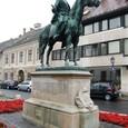 ユージン・サヴォイ王子の像
