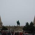 漁夫の砦と聖イシュトヴァーン騎馬像