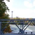 橋よりカナダ側を観る