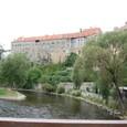 モルダウ川とチェスキークルムロフ城