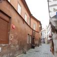 中世の雰囲気が漂う街
